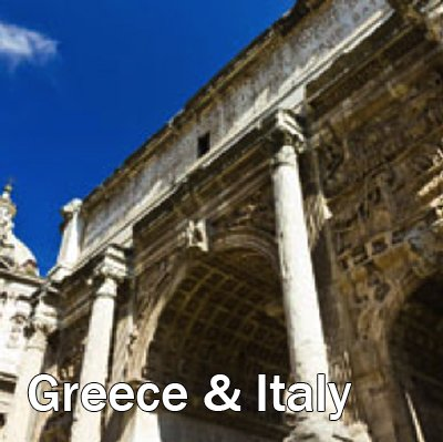 Greece and Italy