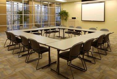 Conference Center Hollow Square Setup