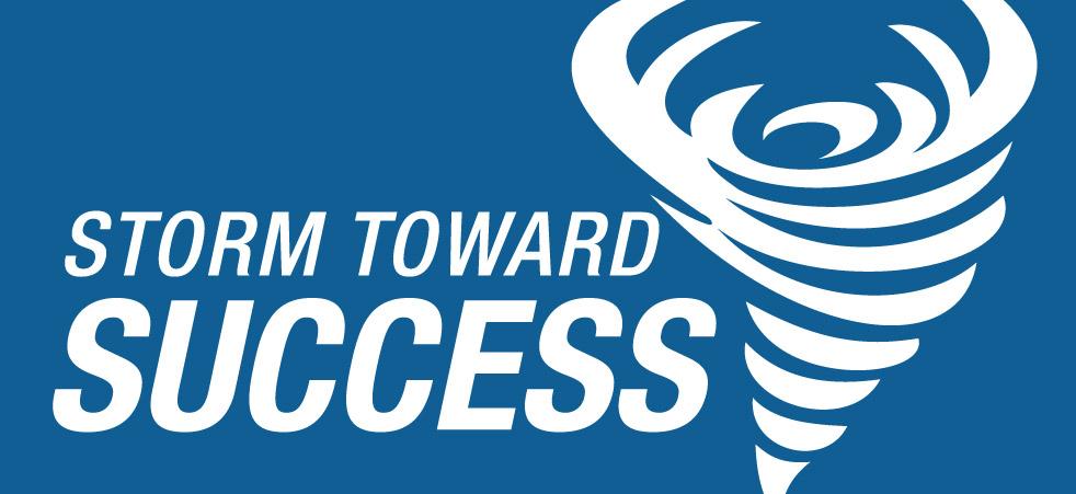 Storm Toward Success Logo