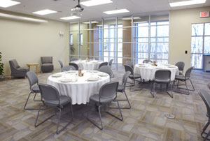 Conference Center Social Setup