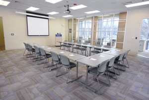 Conference Center u-shaped setup