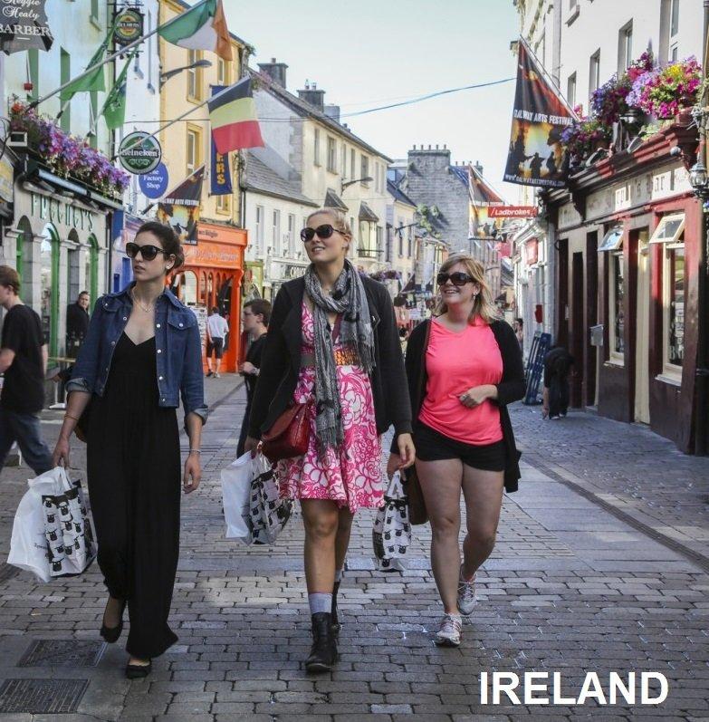 Travel Destination - Ireland