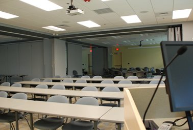 Conference Center Classroom Setup