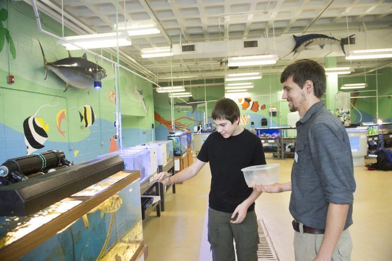 DCCC Aquarium Lab