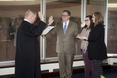 Dr. Darrin Hartness Oath of Office