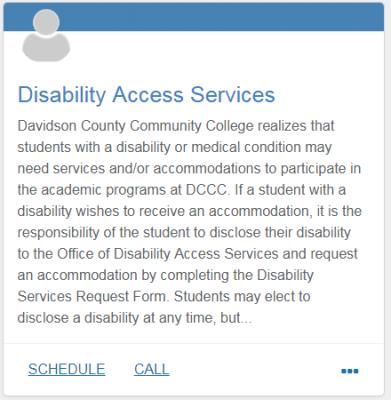 Disability Access Services_Davidson