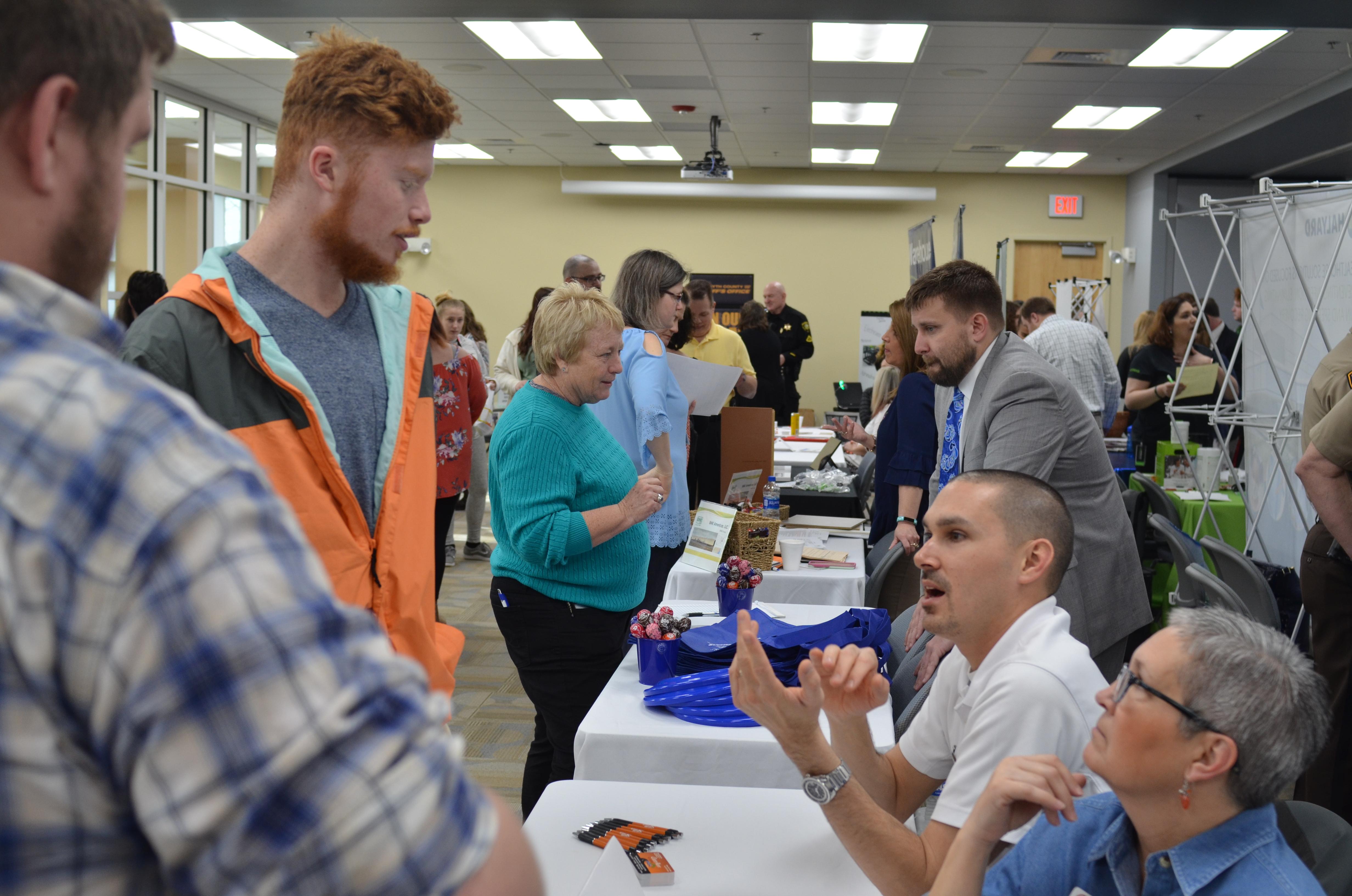 JobFair19_Photo - Davidson County Community College