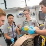 """To DCCC Newsroom article: """"New EMT certification course available for Davie High students"""""""