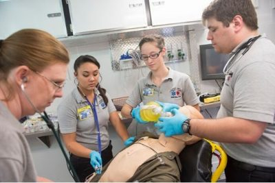 "To DCCC Newsroom article: ""New EMT certification course available for Davie High students"""