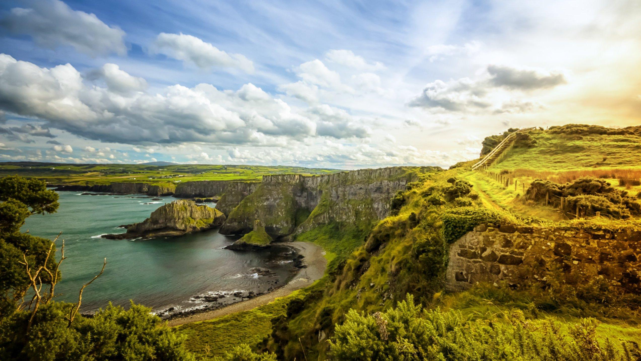 Ireland Coastal Landscape
