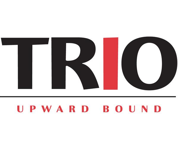 """Text Reads: """"TRIO Upward Bound"""""""