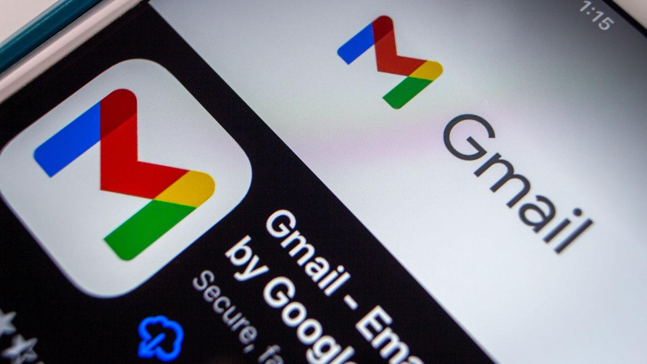 Gmail App Download Screen