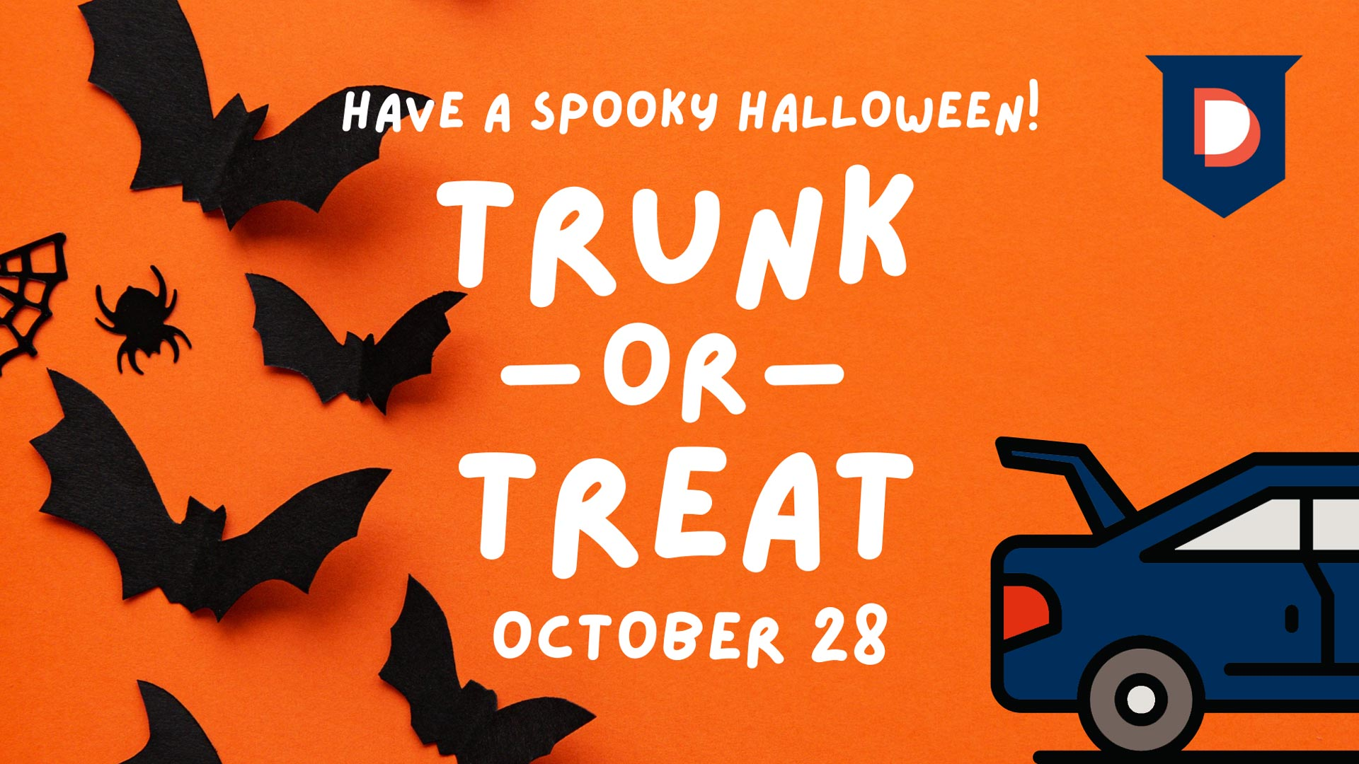 Trunk Or Treat October 28